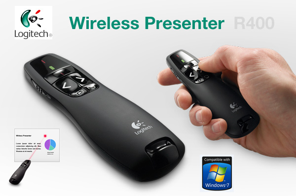Jual LOGITECH Wireless Presenter R400 murah
