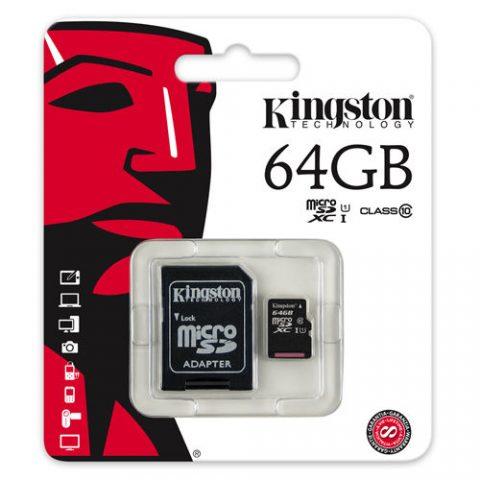 Kingston 64GB memory card in Pakistan