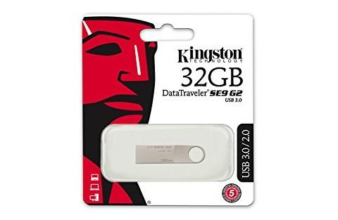Kingston Data Traveler SE9 G2 3.0 32gb