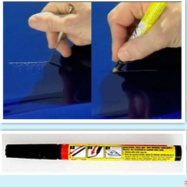 fix it pro clear car scratch repair remover pen silicon pk. Black Bedroom Furniture Sets. Home Design Ideas
