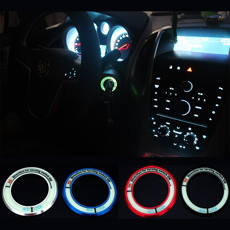 Toyota Corolla Accessories >> Luminous Ignition Switch Cover For Toyota Silicon Pk