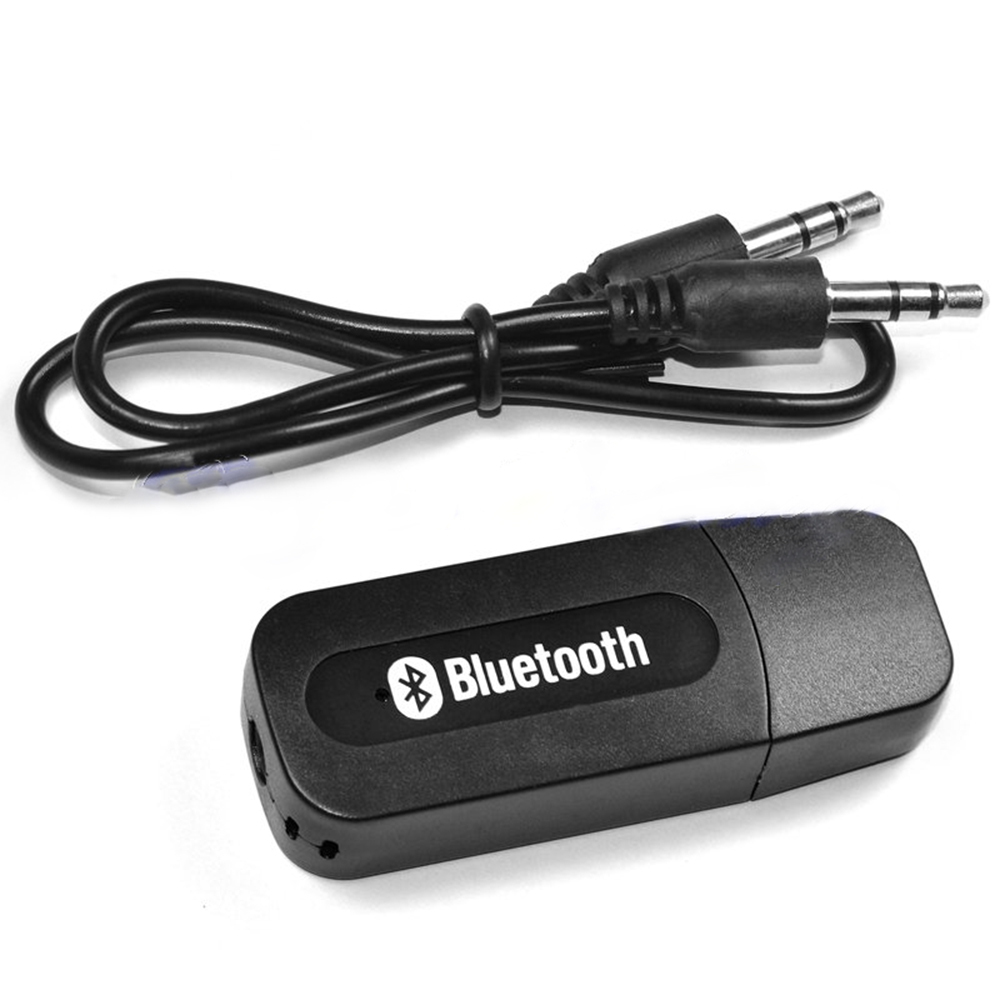 Bluetooth Audio Receiver Adapter Aux Out Silicon Pk