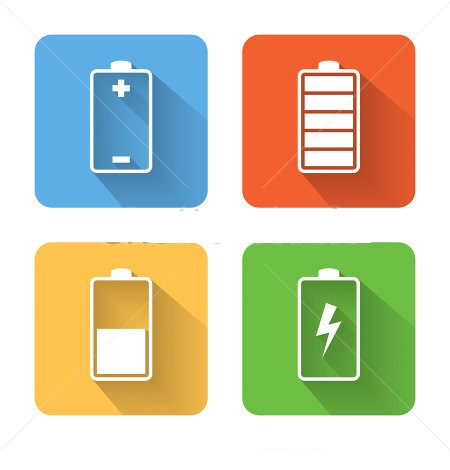 stock-vector-flat-battery-icons-vector-illustration-226306135 Silicon.PK