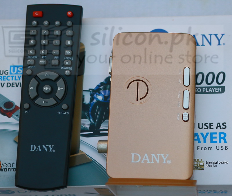 how to connect dany tv device with laptop