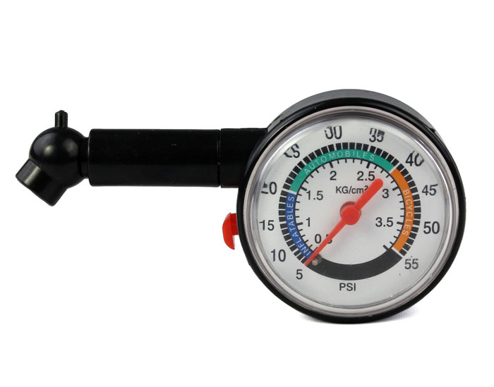 Car Tire Dimension >> Car Bike Tire Air Pressure Gauge Dial Meter | Silicon.PK