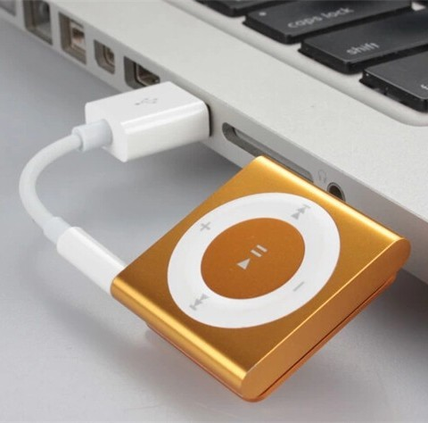 how to connect ipod shuffle to computer