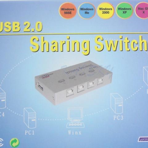 4 Port USB Printer Sharing Switch (3)