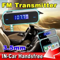 Car Audio FM Transmitter  (2)