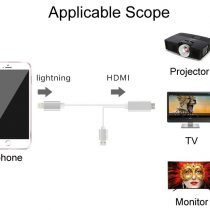 Lightning to HDMI Cable iPhone 5 5S 6 6s plus (1)
