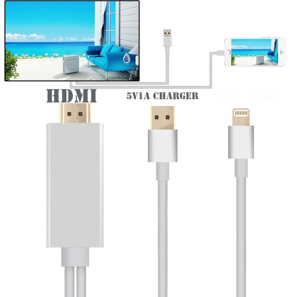 hdmi to iphone 6 lightning to hdmi cable iphone 5 5s 6 6s plus silicon pk 4051