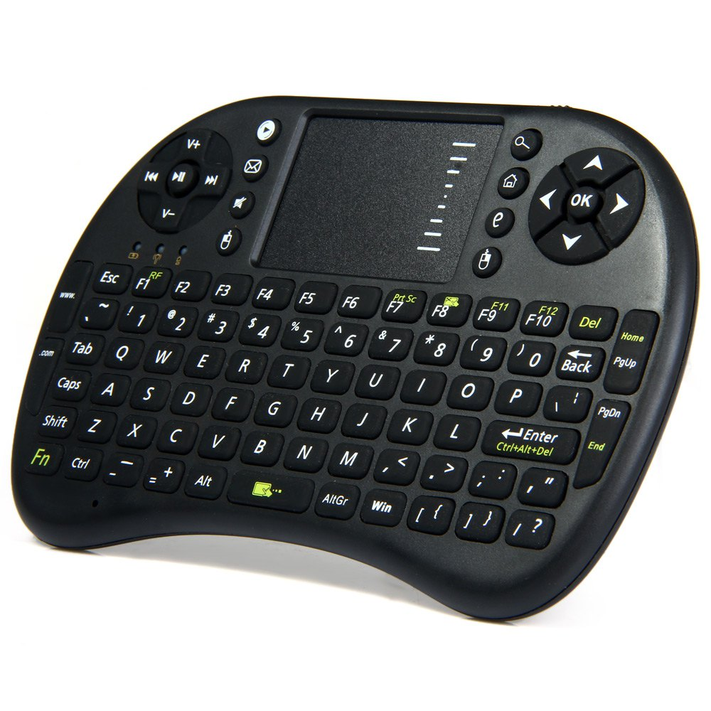 Mini Wireless Keyboard with Touchpad Mouse UKB-500-RF (6)