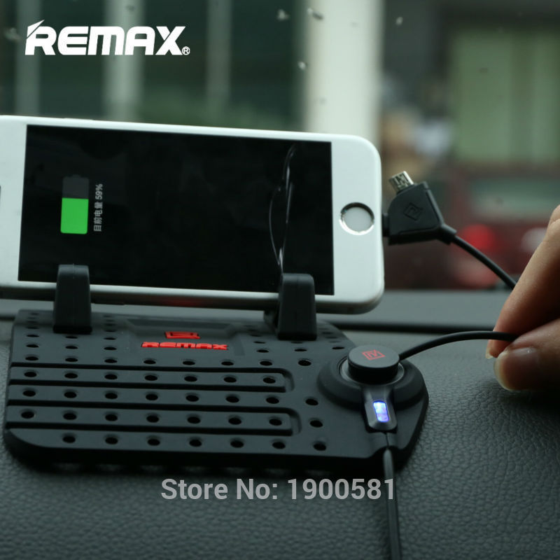 REMAX-Smartphone-Car-Holder-CS101-11 Silicon.PK