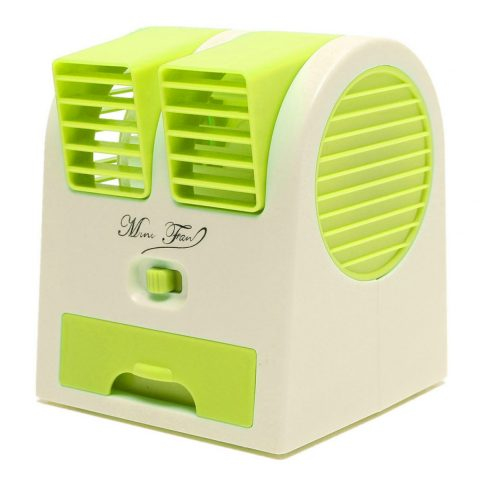 Mini Air Conditioner Shaped Perfume Turbine USB Fan Pakistan