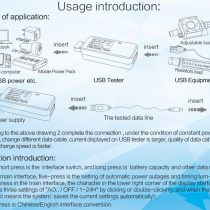 USB Voltage Current and Capacity Tester Fast Charging Supported (1)