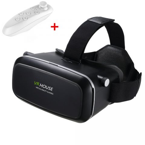 Shinecon 3D Virtual Reality Glasses 4th Generation with Remote