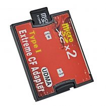 Silicon Micro SD card to CF Card Adapter (1)
