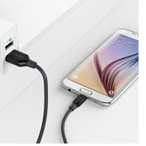 Anker PowerLine Micro USB (3ft) - Durable Charging Cable Black