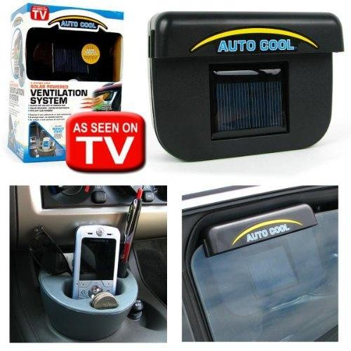 Auto Cool Solar Powered Ventilation System Silicon Pk