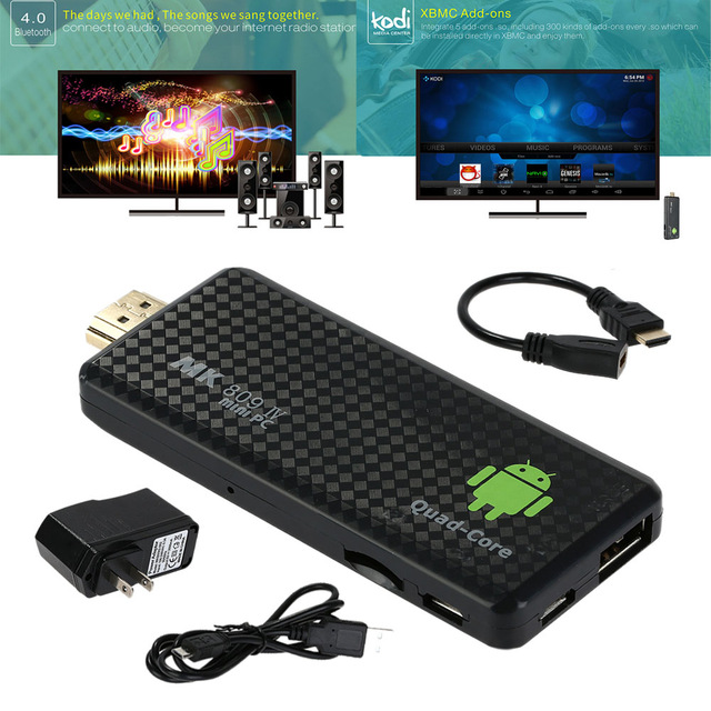 Android Hdmi Dongle Quad Core Tv Stick 2g+8g Mk809iii