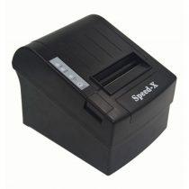 Speed-X X200 Thermal Receipt Printer Usb+RS232 - Black