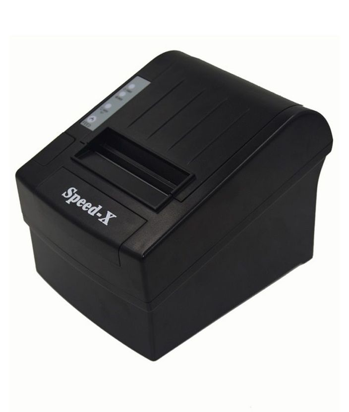 Speed-X X200 Thermal Receipt Printer Usb+RS232 - Black