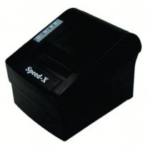 Speed-x SP-X300 Thermal Receipt Printer Usb+RS232+LAN - Black