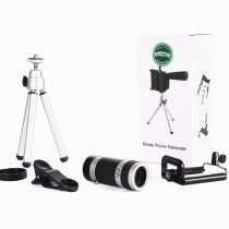 Universal 18X Zoom Mobile Phone Optical Lens with Tripod