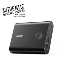 Anker PowerCore+ - Quick Charge 3.0 Qualcomm Powerbank - 13400mAh - Black
