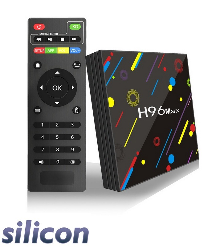 Silicon H96 Max H2 Android TV Box 4GB RAM 32GB ROM Android 7.1 Quad Core