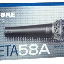 Shure BETA 58A Dynamic Wired XLR Professional Microphone (1)