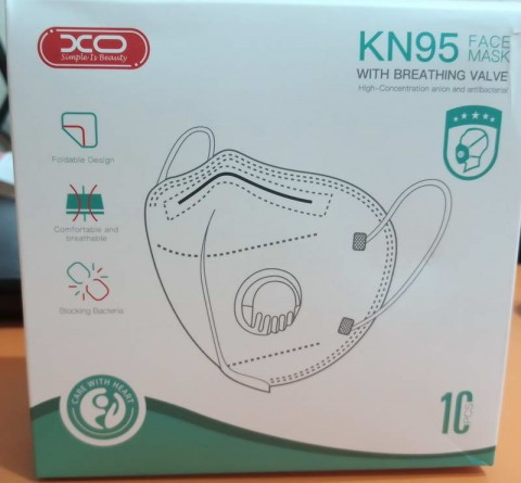 XO N95 With Filter 5 Layer Professional Medical Grade Mask