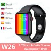 IWO W26 Smart Watch – Waterproof – Infinity Display
