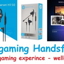 HP H150 gaming headset - gaming handsfree