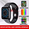 IWO W26 Plus Smart Watch – Waterproof -Infinity Display – Calling- BLACK