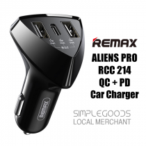 Remax RCC 214 Fast Charging PD QC Type C Car Charger