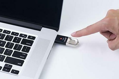 Lexar JumpDrive Fingerprint F35 USB 3.0 Flash Drive