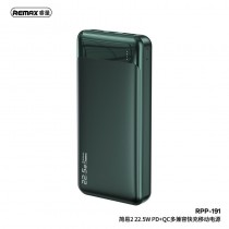 REMAX RPP-191 Jany Series 20000mAh 22.5W PD+QC Fast Charging Power Bank