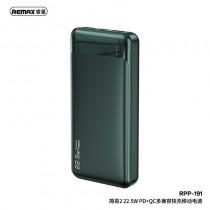 REMAX RPP-191 Jany Series 20000mAh 22.5W PD+QC Fast Charging Power Bank